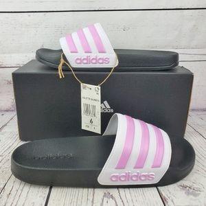 New Adidas Adilette Shower Slides Pink